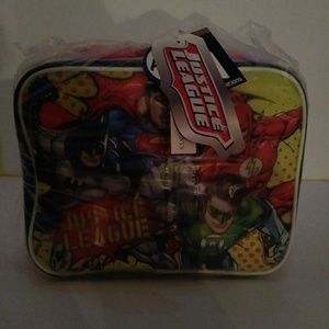 Dc comics justice league insulated lunch bag